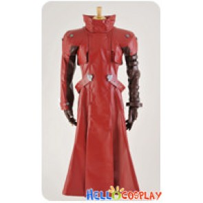 Trigun Cosplay Vash The Stampede Costume Red Trench Coat