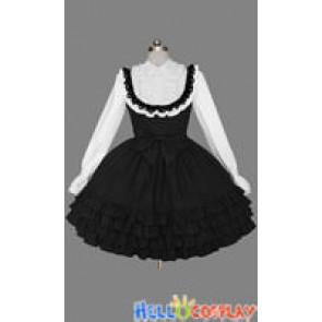Gothic Lolita Punk Classic Cotton Victorian Dress