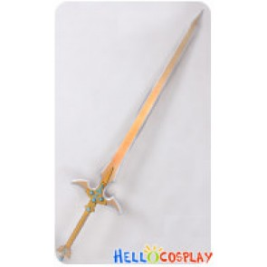 Sword Art Online II 2 : Mother's Rosario Cosplay Kirito Kazuto Kirigaya Excalibur Sword Prop