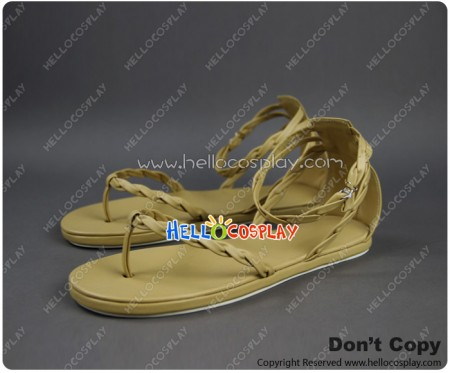 Bleach Cosplay Shoes Kurosaki Ichigo Beige Shoes New Ver