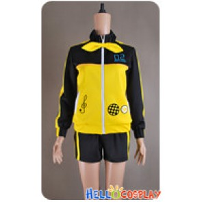 Project DIVA F Stylish Energy L Kagamine Rin Costume Sportswear