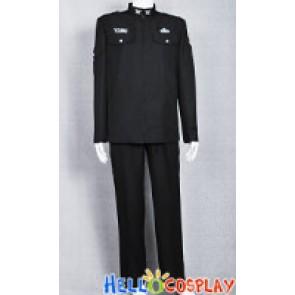 Stargate Universe Costume SGU Black Uniform