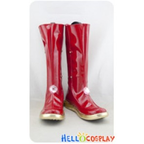 Final Fantasy XIV Cosplay Shoes Red Boots