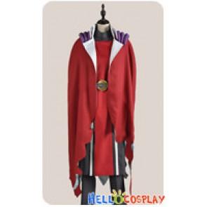 Makai Ouji Devils And Realist Cosplay Dantalion Red Uniform Costume