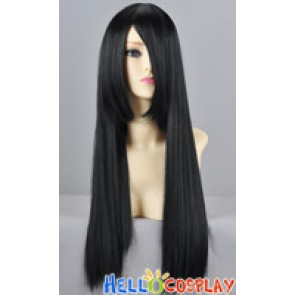 Black Straight Cosplay Wig 70cm