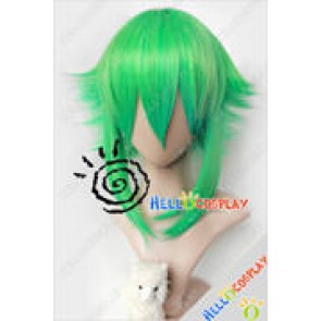 Vocaloid Cosplay Gumi Short Green Wig