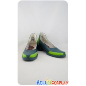 League of Legends Cosplay Yin Green Shoes
