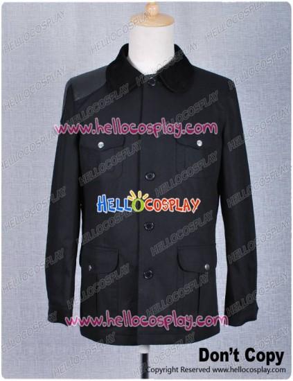 Sherlock Holmes Costume Dr. Watson John Watson Jacket Black