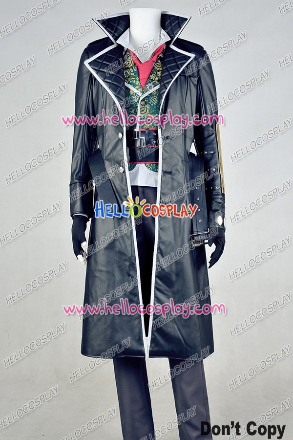 Assassin S Creed Syndicate Jacob Frye Uniform Cosplay Costume Leather
