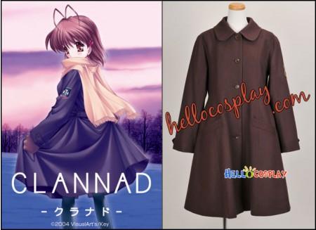 Clannad Cosplay Costume Fuko Ibuki Coat