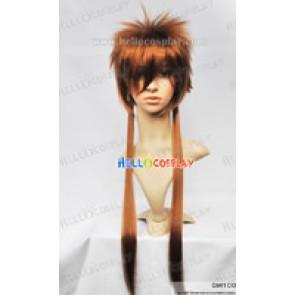Katekyo Hitman Reborn Cosplay Sawada Tsunayoshi Long Wig
