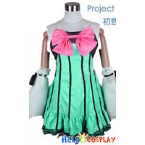 Vocaloid 2 Project DIVA Cosplay Hatsune Miku Costume Colorful Drop Ver