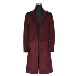 Doctor 4th Fourth Dr Tom Baker Daily Uniform Cosplay Costume Trench Coat