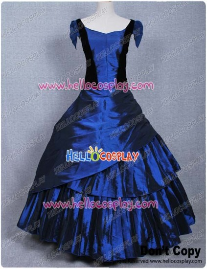 Stardust Costume Yvaine Blue Gown Dress