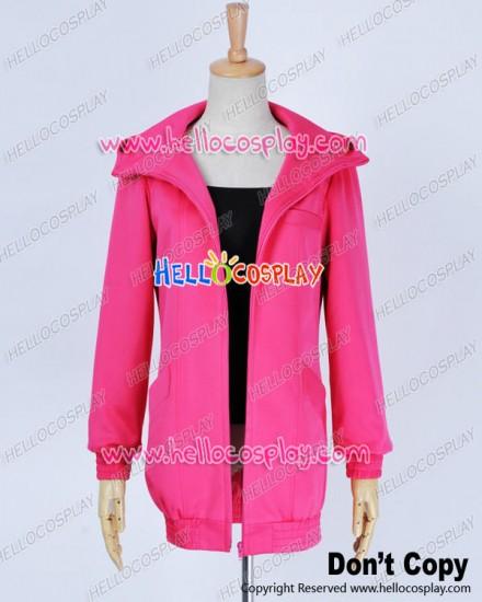 Karneval Cosplay Gareki Costume Pink Jacket Hoodie