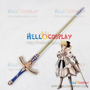 Fate Stay Night Unlimited Codes Cosplay Saber Lily Sword Prop