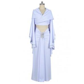 Star Wars Padmé Amidala Dress Cosplay Costume White