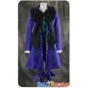 Black Butler Cosplay Earl Alois Trancy Purple Uniform Costume
