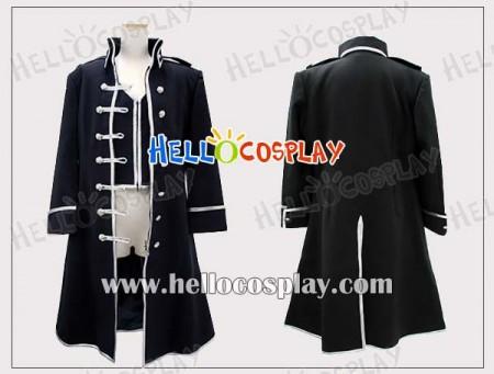 Gintama Cosplay Costume Silver Soul Long Coat