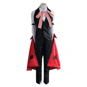 Black Butler Cosplay Grell Sutcliff Black Vest Uniform Costume