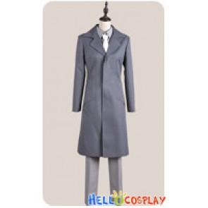 Kamisama Kiss Cosplay Shinjirō Kurama Gray Trench Coat Costume