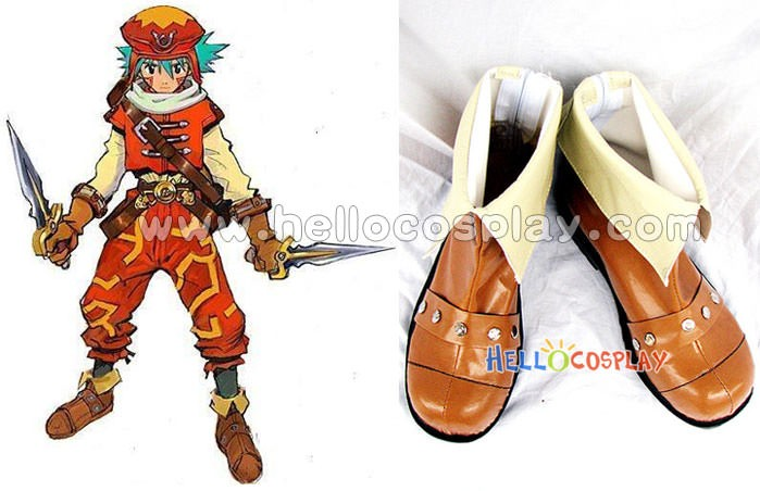 Kite Cosplay Boots From Dot hack//Games series