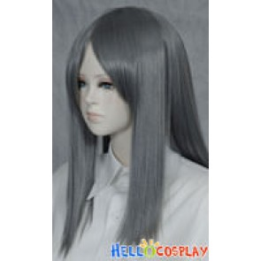 Dark Grey 50cm Cosplay Straight Wig