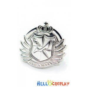 Danganronpa Dangan Ronpa Cosplay Hope's Peak Academy Metal Badge Brooch