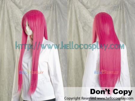 Cosplay Pink Medium Wig