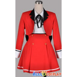 Mayoi Neko Overrun Cosplay Fumino Serizawa Costume Uniform