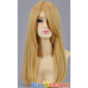 Blond Yellow Gold Straight Cosplay Wig