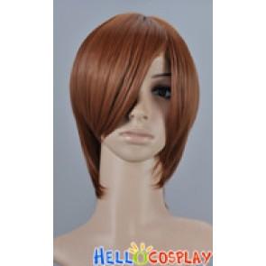 Dark Sienna Gold Cosplay Short Layer Wig