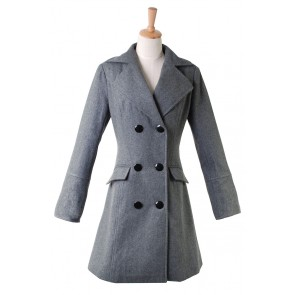 Harry Potter Hermione Granger Cosplay Costume Grey Coat