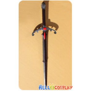 Unlight Cosplay Black Prince Grunwald Sword Weapon