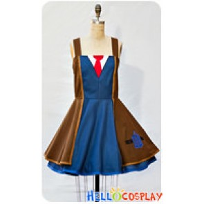 Doctor Dr Cosplay The 10th Tenth Costume Dress Coat