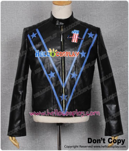 Motorcycle Daredevil Evel Knievel Jacket Cosplay Costume