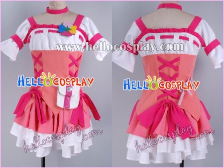 Fresh Pretty Cure Cosplay Love Momozono Costume