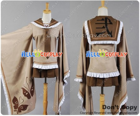 Vocaloid Cosplay Rin Senben Zakura Costume Uniform