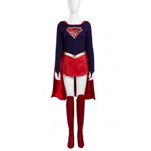Superman Supergirl Kara Cosplay Costume