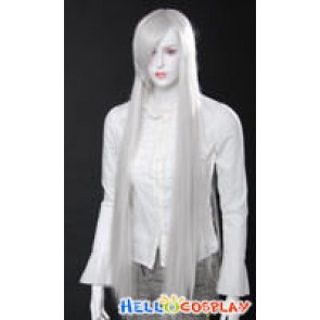 Cosplay White Long Wig