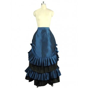 Victorian Lolita Edwardian French Bustle Skirt Gothic Lolita Dress
