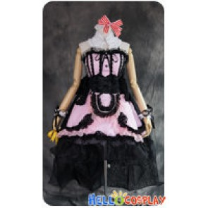 Macross Frontier 30th Anniversary Cosplay Sheryl Nome Dress Costume