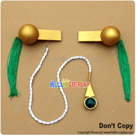 Revolutionary Girl Utena Cosplay Anthy Himemiya Epaulets Badge Accessories