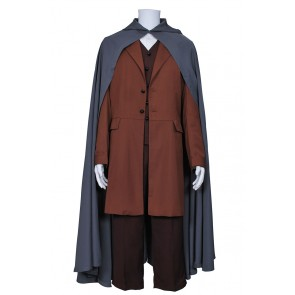 The Lord of the Rings Frodo Baggins Costume Cape Coat