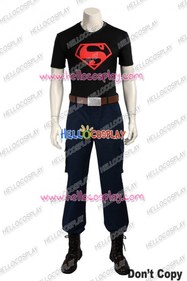 Young Justice Superboy Cosplay Costume