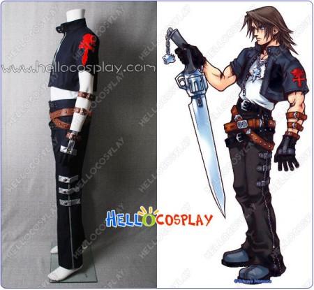 Final Fantasy VIII Cosplay Squall Leonhart Costume