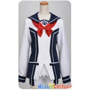 Vividred Operation Cosplay Rei Kuroki Girl Uniform Costume