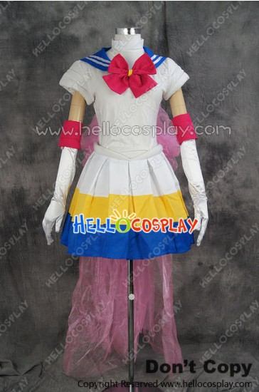 Sailor Moon Cosplay Bunny Usagi Tsukino Uniform Costume