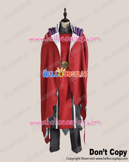 Makai Ouji Devils And Realist Cosplay Dantalion Red Uniform Costume
