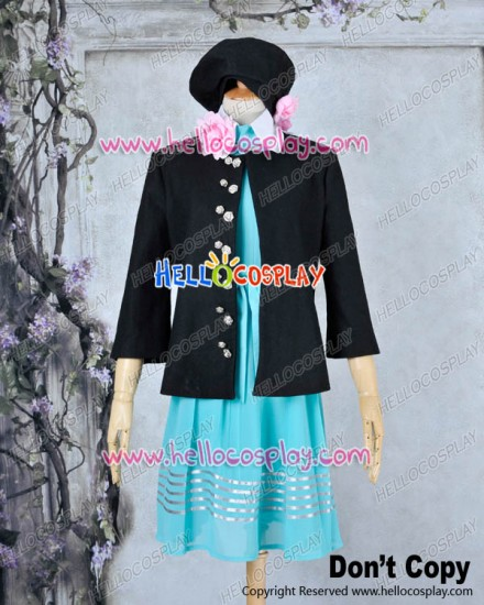 Amnesia Cosplay Heroine Costume Dress